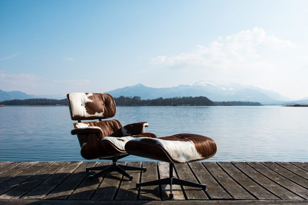 Lounge Chair Chiemsee Kuhfell Sonderedition